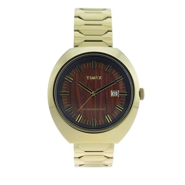 タイメックス TIMEX リミテッドエディション Limited Edition ユニセックス 腕時計 T2N881 ウッド/ゴールド 海外輸入品