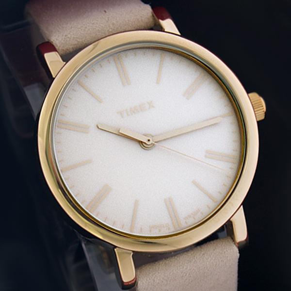タイメックス TIMEX クオーツ レディース 腕時計 TW2P96200 ベージュ 海外輸入品