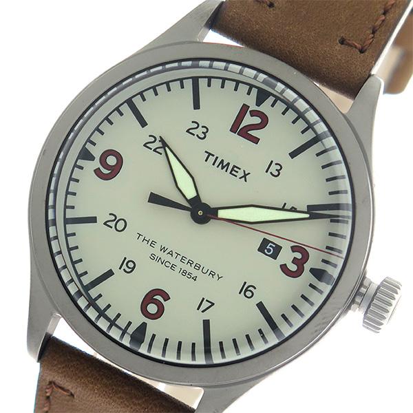 タイメックス TIMEX ウォーターベリー Waterbury クオーツ メンズ 腕時計 TW2R38600 グレー/ブラウン 海外輸入品