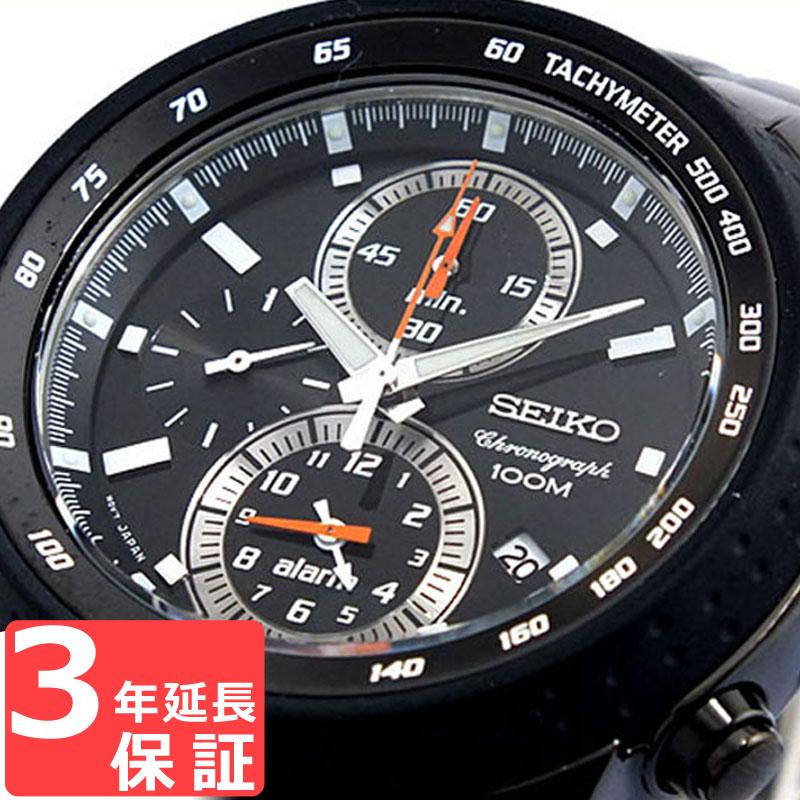 【3年保証】 セイコー SEIKO 時計 クロノグラフ アラーム メンズ 腕時計 おしゃれ SNAB53P1 海外モデル セイコー SEIKO 腕時計