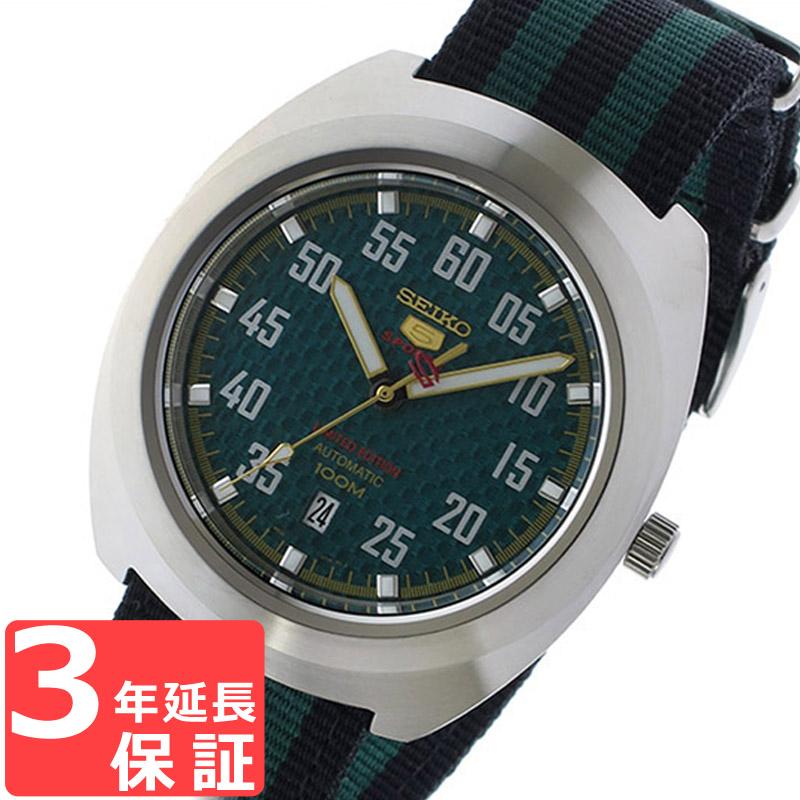 【3年保証】 セイコー SEIKO 時計 セイコー5 スポーツ 5 SPORTS 自動巻き メンズ 腕時計 おしゃれ SRPA89K1 グリーン/ブラック 海外モデル セイコー SEIKO 腕時計