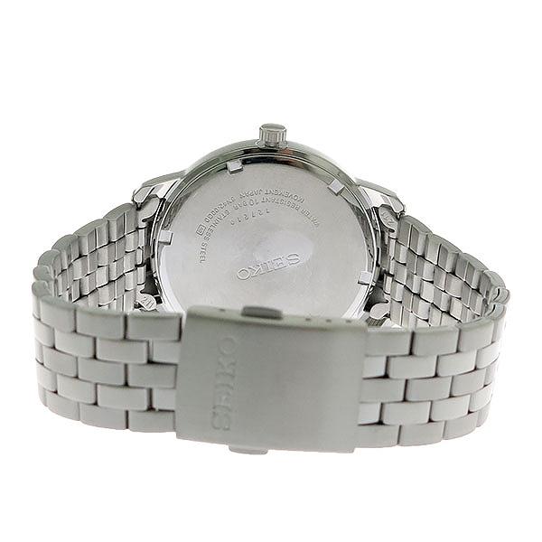 3年保証セイコー SEIKO 時計 クオーツ メンズ 腕時計 おしゃれ SUR259P1 ネイビー シルバー 海外モデル セイコー SEIKO 腕時計pSzMVU