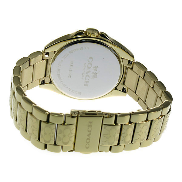 コーチ COACH クオーツ レディース 腕時計 14502178 ゴールド