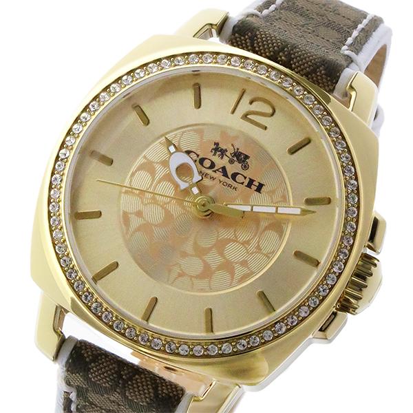 コーチ COACH ボーイフレンド BOYFRIEND クオーツ レディース 腕時計 14502508 ゴールド