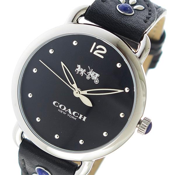 コーチ COACH クオーツ レディース 腕時計 14502738 ブラック