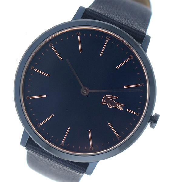 ラコステ LACOSTE クオーツ レディース 腕時計 2000999 ネイビー