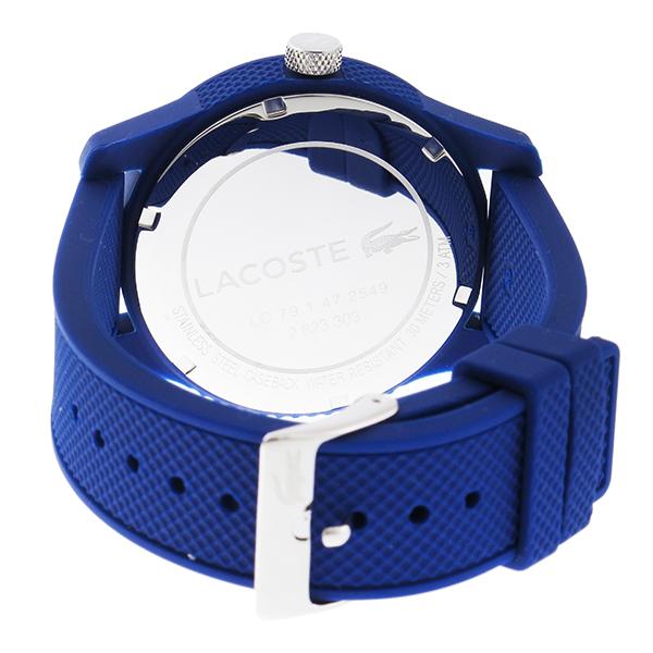 ラコステ LACOSTE クオーツ メンズ 腕時計 2010765 ネイビー