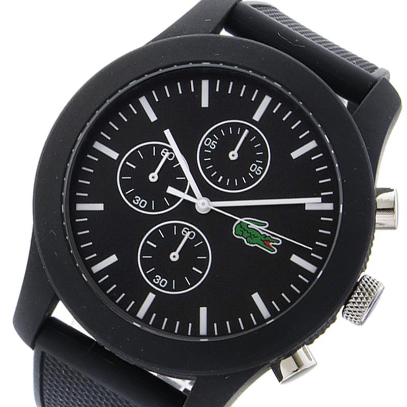 ラコステ LACOSTE クオーツ メンズ 腕時計 2010821 ブラック