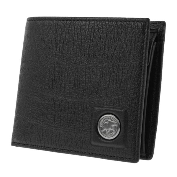 ハンティングワールド HUNTING WORLD 二つ折り 短財布 メンズ 5751233-BLK