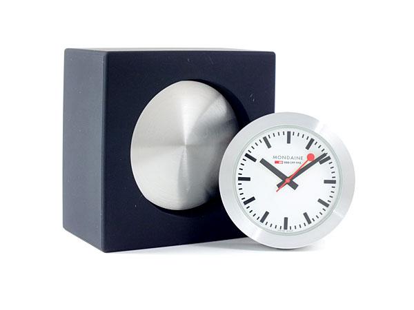モンディーン MONDAINE 置時計 A6603031884SBB ブラック
