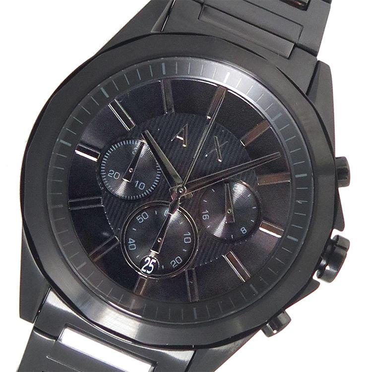 アルマーニ エクスチェンジ 時計 ARMANI EXCHANGE 腕時計 クオーツ メンズ AX2601 ブラック アルマーニ エクスチェンジ 時計