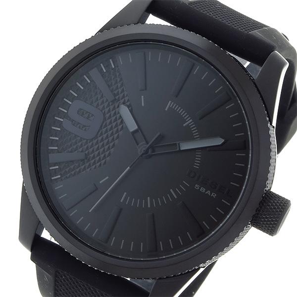 ディーゼル DIESEL ラスプ RASP クオーツ メンズ 腕時計 DZ1807 ブラック
