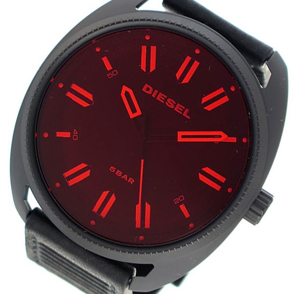 ディーゼル DIESEL クオーツ メンズ 腕時計 DZ1837 レッド