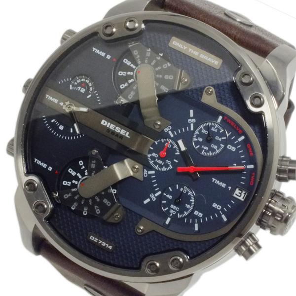 ディーゼル DIESEL ミスター ダディ 4タイム メンズ クロノ 腕時計 DZ7314