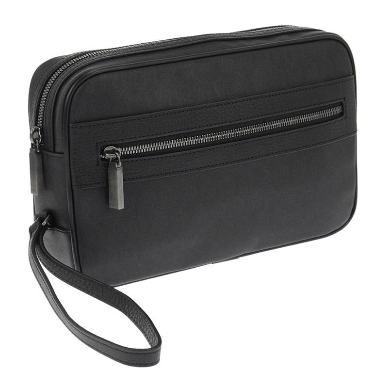 ダンヒル DUNHILL セカンドバッグ カバン ポーチ メンズ L3K791A ブラック