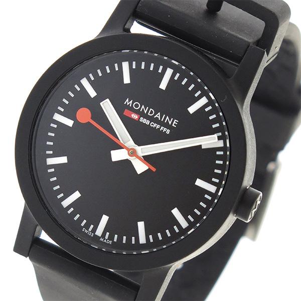 モンディーン MONDAINE クオーツ レディース 腕時計 MS1.32120.RB ブラック