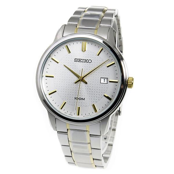【3年保証】 セイコー SEIKO クオーツ メンズ 腕時計 SUR197P1 ホワイト