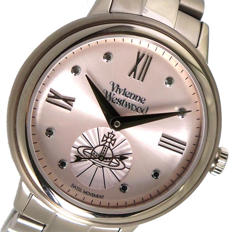 ヴィヴィアン ウエストウッド Vivienne Westwood クオーツ レディース 腕時計 VV158PKNU ピンクゴールド