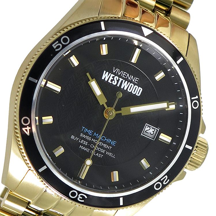 ヴィヴィアン ウエストウッド Vivienne Westwood クオーツ メンズ 腕時計 VV181BKGD ブラック