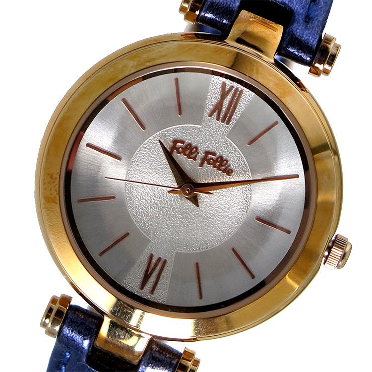フォリフォリ FOLLI FOLLIE クオーツ レディース 腕時計 WF16R032SPS シルバー