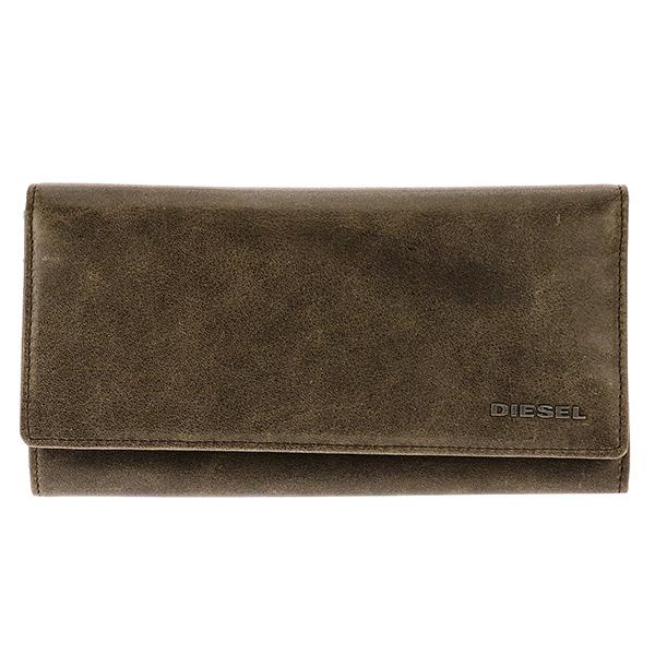 ディーゼル DIESEL メンズ 長財布 X03359-P1075-H6184 ブラウン