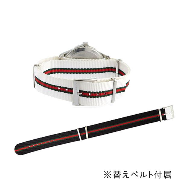 グッチ GUCCI Gタイムレス クオーツ メンズ 腕時計 YA126323 ホワイト