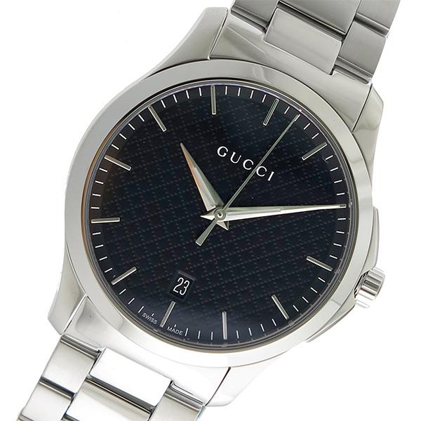 グッチ GUCCI Gタイムレス クオーツ メンズ 腕時計 YA1264051 ブラック