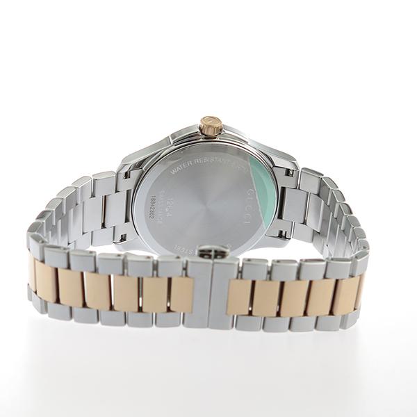 グッチ GUCCI Gタイムレス クオーツ メンズ 腕時計 YA126446 グレー