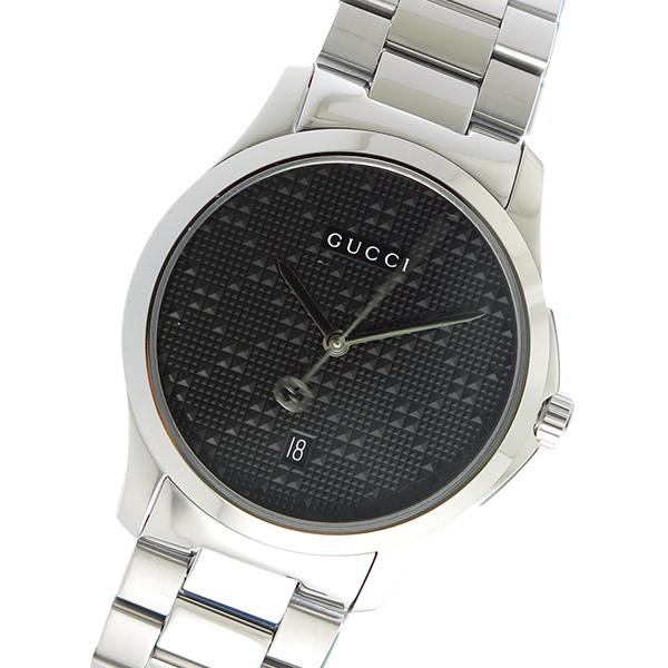 グッチ GUCCI Gタイムレス クオーツ メンズ 腕時計 YA126460 ブラック