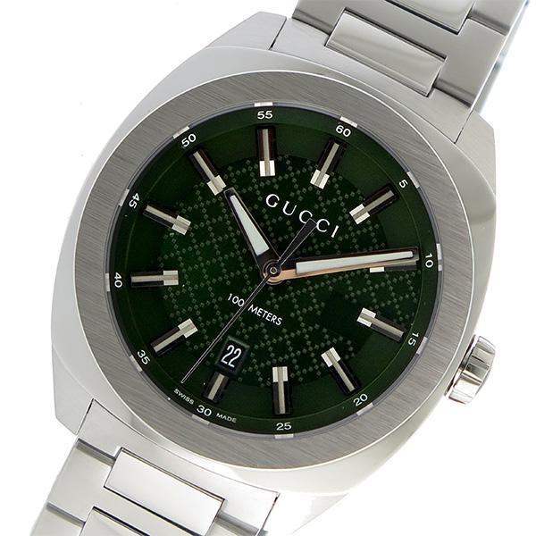 グッチ GUCCI GG2570 クオーツ メンズ 腕時計 YA142313 グリーン