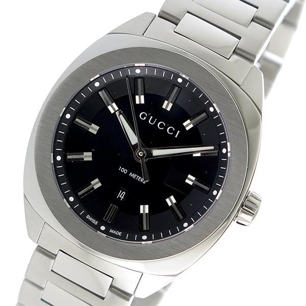 グッチ GUCCI GG2570 クオーツ メンズ 腕時計 YA142401 ブラック
