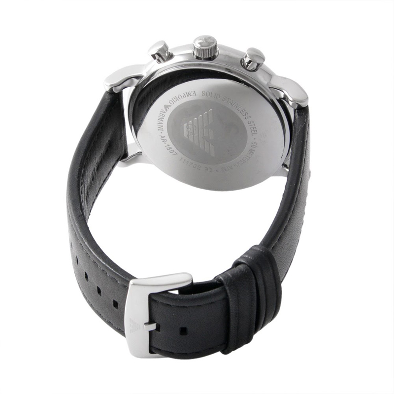 エンポリオ アルマーニ 時計 EMPORIO ARMANI 腕時計 AR1807 メンズ クロノグラフ 腕時計 エンポリオ アルマーニ 時計