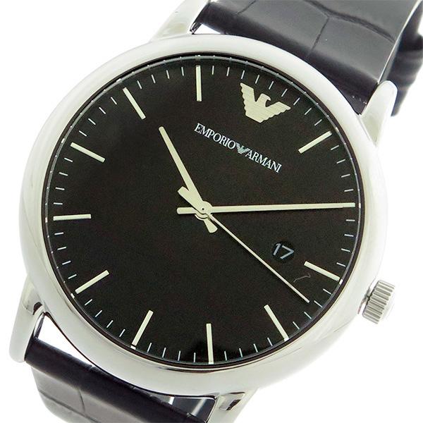 エンポリオ アルマーニ 時計 EMPORIO ARMANI 腕時計 KAPPA クオーツ メンズ AR2500 ブラック/ブラック エンポリオ アルマーニ 時計
