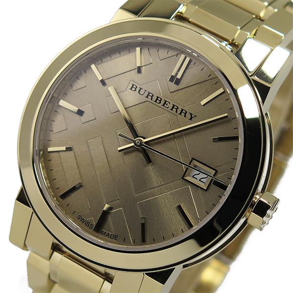 バーバリー BURBERRY シティ クオーツ レディース 腕時計 BU9134 ゴールド