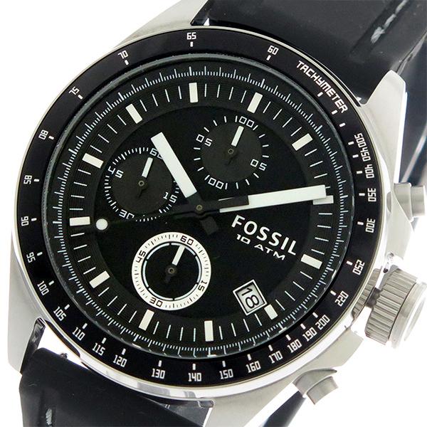 フォッシル FOSSIL クオーツ メンズ 腕時計 CH2573IE ブラック/ブラック