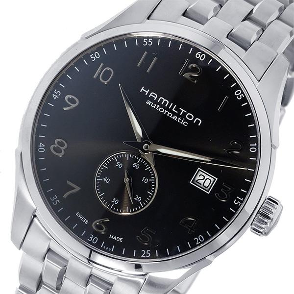 ハミルトン HAMILTON ジャズマスター マエストロ 自動巻き メンズ 腕時計 H42515135 ブラック