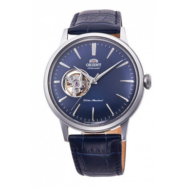オリエント ORIENT 自動巻き メンズ 腕時計 RN-AG0008L ネイビー
