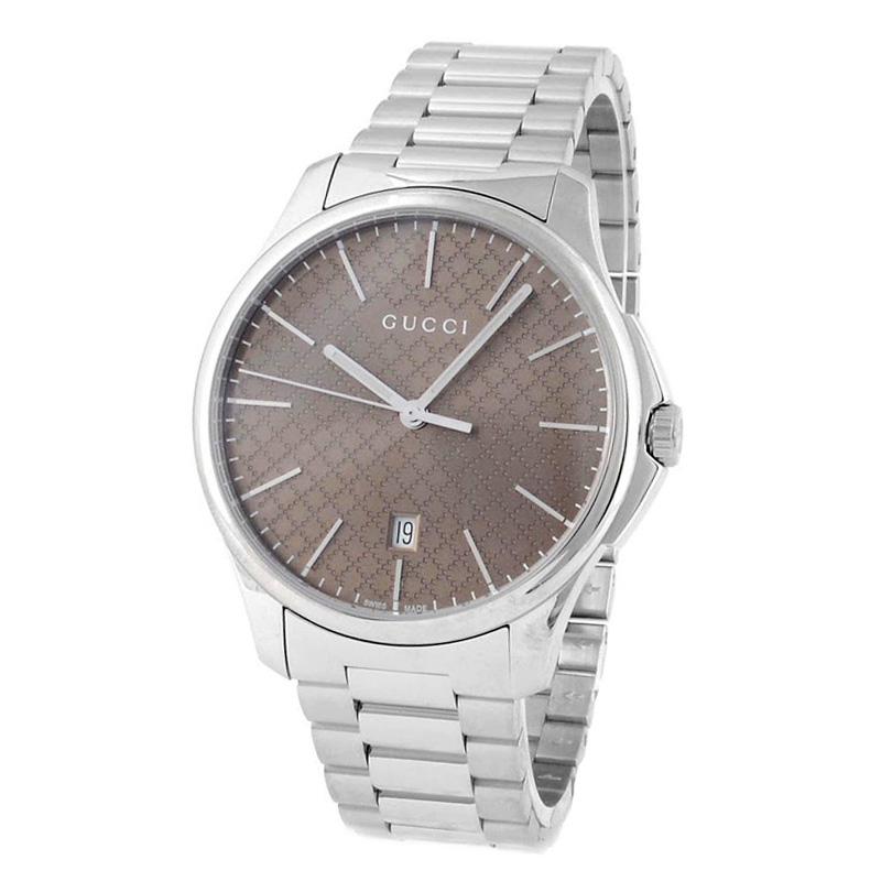 グッチ GUCCI YA126317 G-タイムレス コレクション クォーツ ラージスリム メンズ 腕時計
