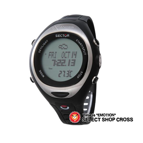 セクター SECTOR エクスパンダー EXPANDER アウトドア OUTDOOR クォーツ メンズ 腕時計 3251174115 ブラック 黒 【男性用腕時計 リストウォッチ ランキング ブランド 防水 カラフル】