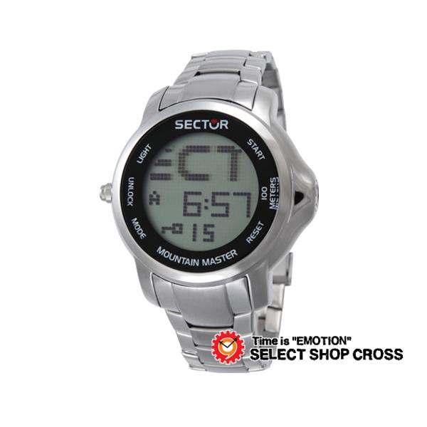 セクター SECTOR マウンテンマスター MOUNTAIN MASTER クォーツ メンズ 腕時計 3253121025 メタルベルト 【男性用腕時計 リストウォッチ ランキング ブランド 防水 カラフル】