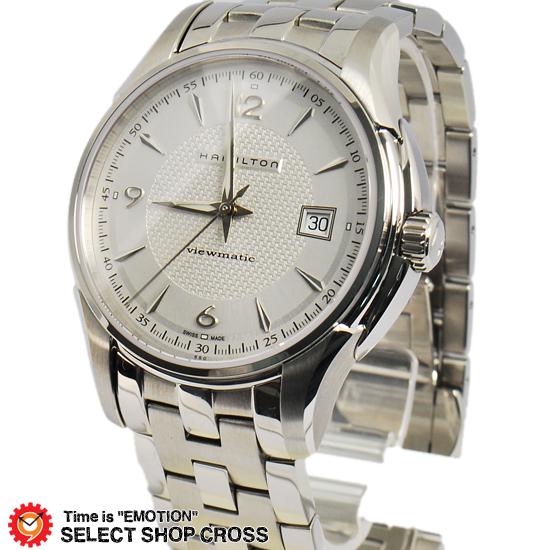 ハミルトン HAMILTON JAZZMASTER メンズ 腕時計 アナログ 自動巻き H32515155 シルバー 【男性用腕時計 リストウォッチ ランキング ブランド 防水 カラフル】
