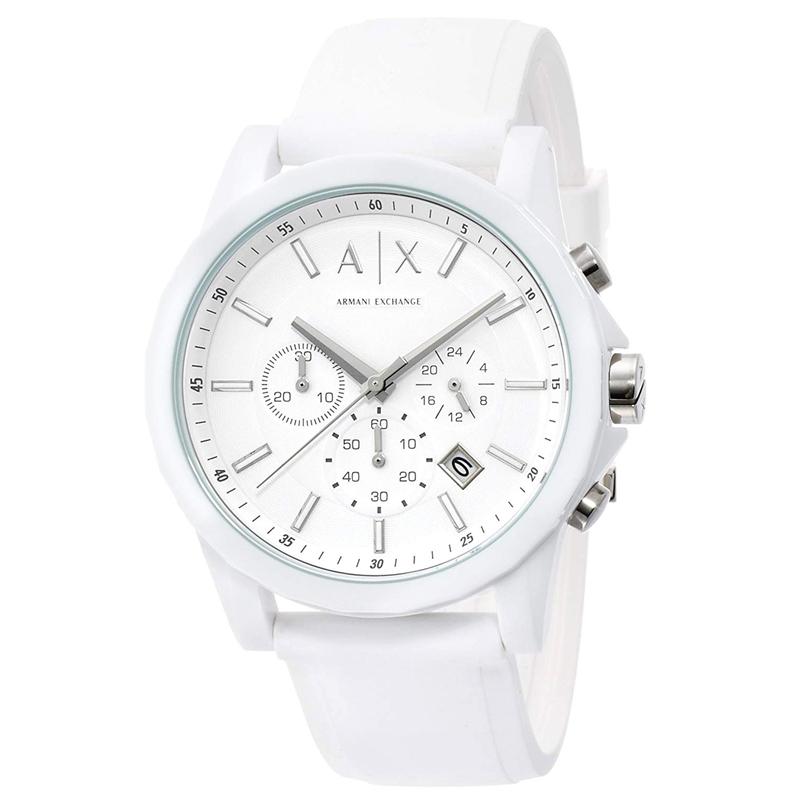 アルマーニ エクスチェンジ ARMANI EXCHANGE クオーツ メンズ 腕時計 AX1325 ホワイト