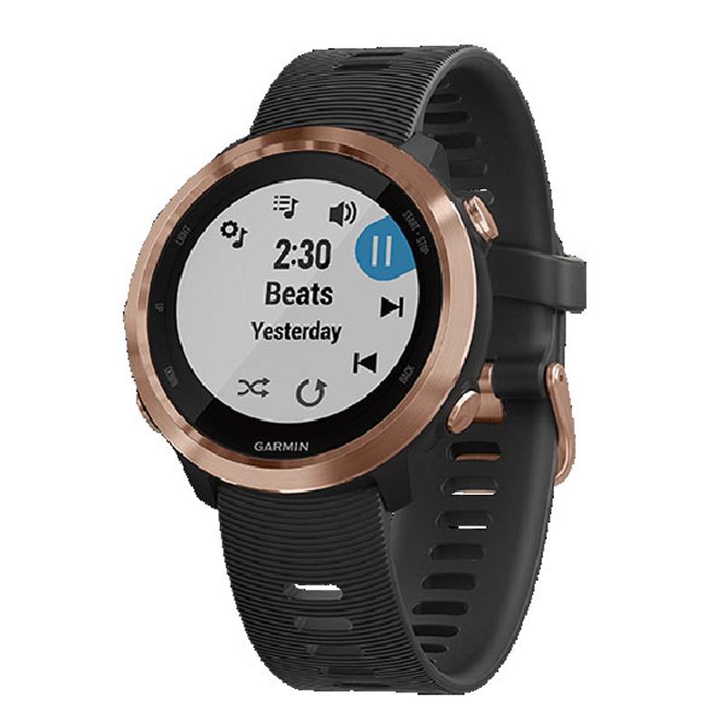 【1年保証付き】【国内正規品】 ガーミン GARMIN ForeAthlete645Music Rose Gold スマートウォッチ 腕時計 010-01863-D3