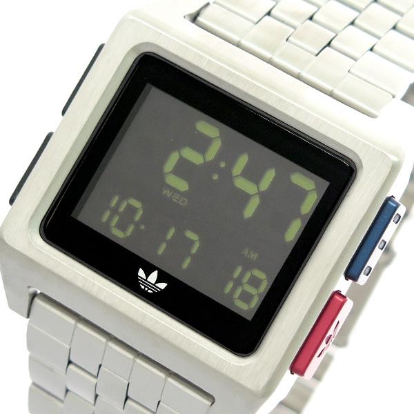 アディダス ADIDAS 腕時計 メンズ レディース ユニセックス Z01-2924 アーカイブ-M1 ARCHIVE-M1 CJ6307 クオーツ ブラック シルバー