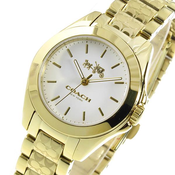 コーチ COACH トリステン クオーツ レディース 腕時計 14502184 ホワイト