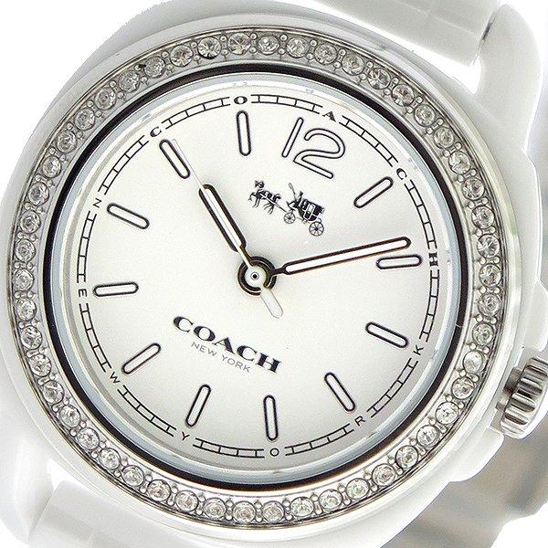 コーチ COACH テイタム TATUM クオーツ レディース 腕時計 14502587 ホワイト/ホワイト