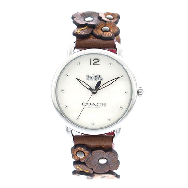 コーチ COACH 腕時計 レディース 14502744 クオーツ ホワイト ブラウン