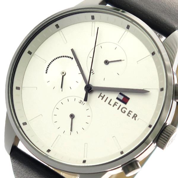 トミー ヒルフィガー TOMMY HILFIGER 腕時計 メンズ 1791489 クオーツ シルバー ブラック