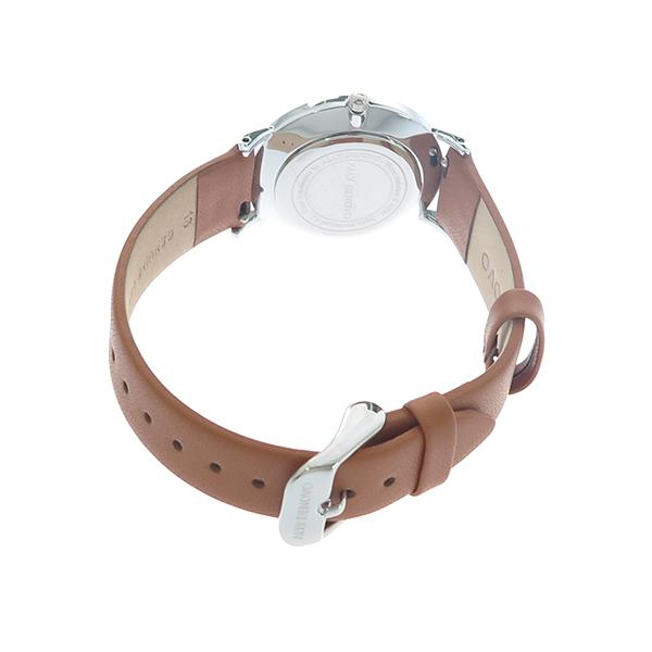 アリーデノヴォ ALLY DENOVO ヘリテージスモールアイ Heritage Small Eye 腕時計 レディース 36mm AF5001-2 クオーツ ホワイト ブラウン