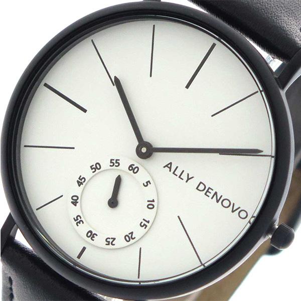 アリーデノヴォ ALLY DENOVO ヘリテージスモールアイ Heritage Small Eye 腕時計 レディース 36mm AF5001-5 クオーツ ホワイト ブラック